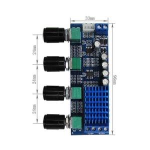Image 4 - デュアルチャンネルステレオデジタルオーディオTPA3116D2 80ワット * 2高音低音調整プリセットプリアンプボードamplificador B4 003