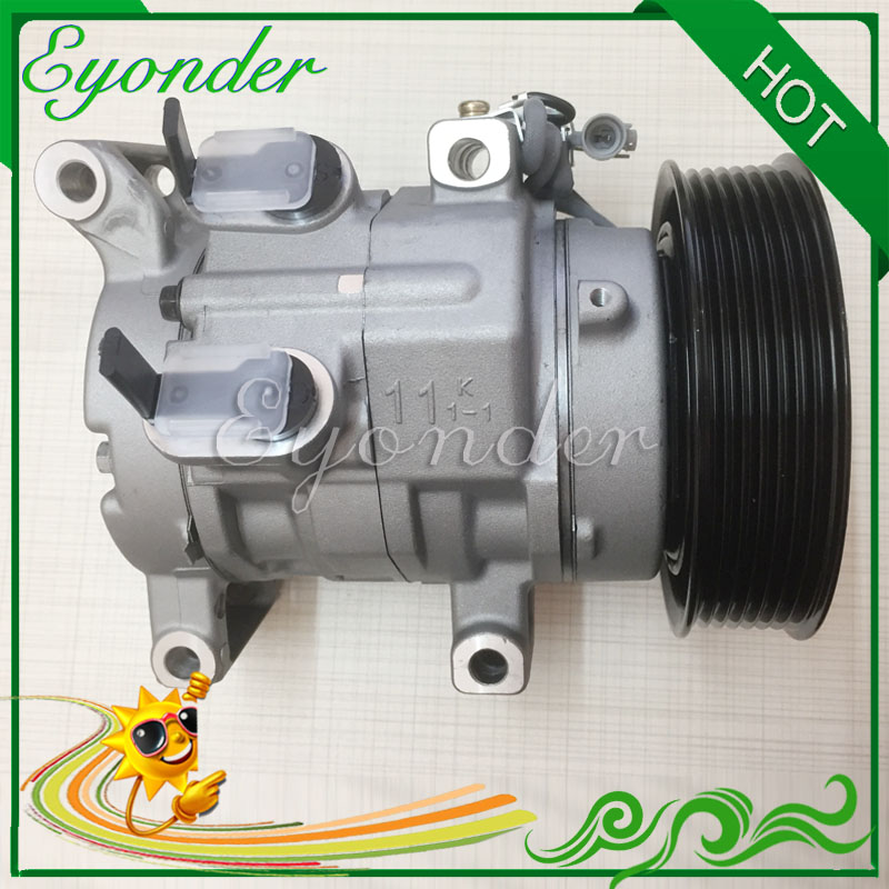 Auto AC Air Conditioning Compressor 10S11C for Toyota Hilux Vigo Pickup III 2.5 3.0 Diesel 1KD 2KD-FTV 88310-0K113 88310-0K130 high quality auto air conditioning compressor sc06e pv4 for daihatsu for car toyota terios ac compressor with clutch