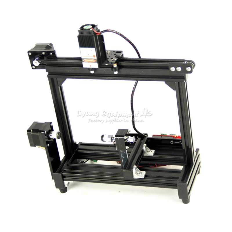 DIY 3040 cnc machine frame cnc cutting router parts mini lath engraving area 400X300X60mm