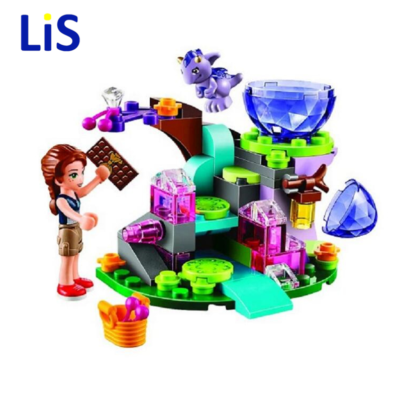 Lis BELA 83pcs Friends Emily Jones & the Baby Wind Dragon Model Building Blocks Toy Compatible Lepin 41171 Bricks set Elves Toys hot nuevo 10415 elfos azari aira naida emily jones cielo fortaleza castillo building block toys
