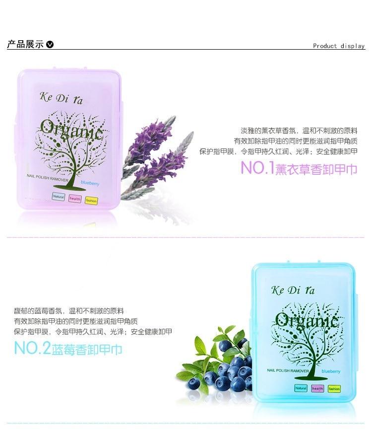 10 stks / partij Nagellak Remover Fruit Nursing Handdoek Wassen Nail - Nagel kunst - Foto 4