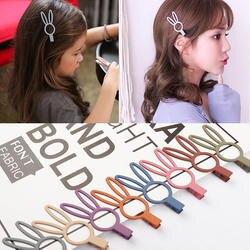 Аксессуары для волос Корейский мультфильм заколки для девочек 3''Solid сплав заколки для девочек модные милые головной убор ручной работы 2