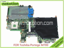 FWGSY1 A5A002251010 for Toshiba Portege M700 M750 Laptop motherboard Intel 965GM DDR2