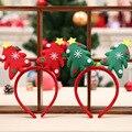 Стильный Рождественская елка для женщин обувь для девочек милые повязки на голову лента для волос головная повязка уникальный дизайн праздничные волосы группа интимны - фото