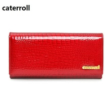 genuine leather wallet women luxury brand ladies wallets and purses famous designer coin purse long real leather money bag