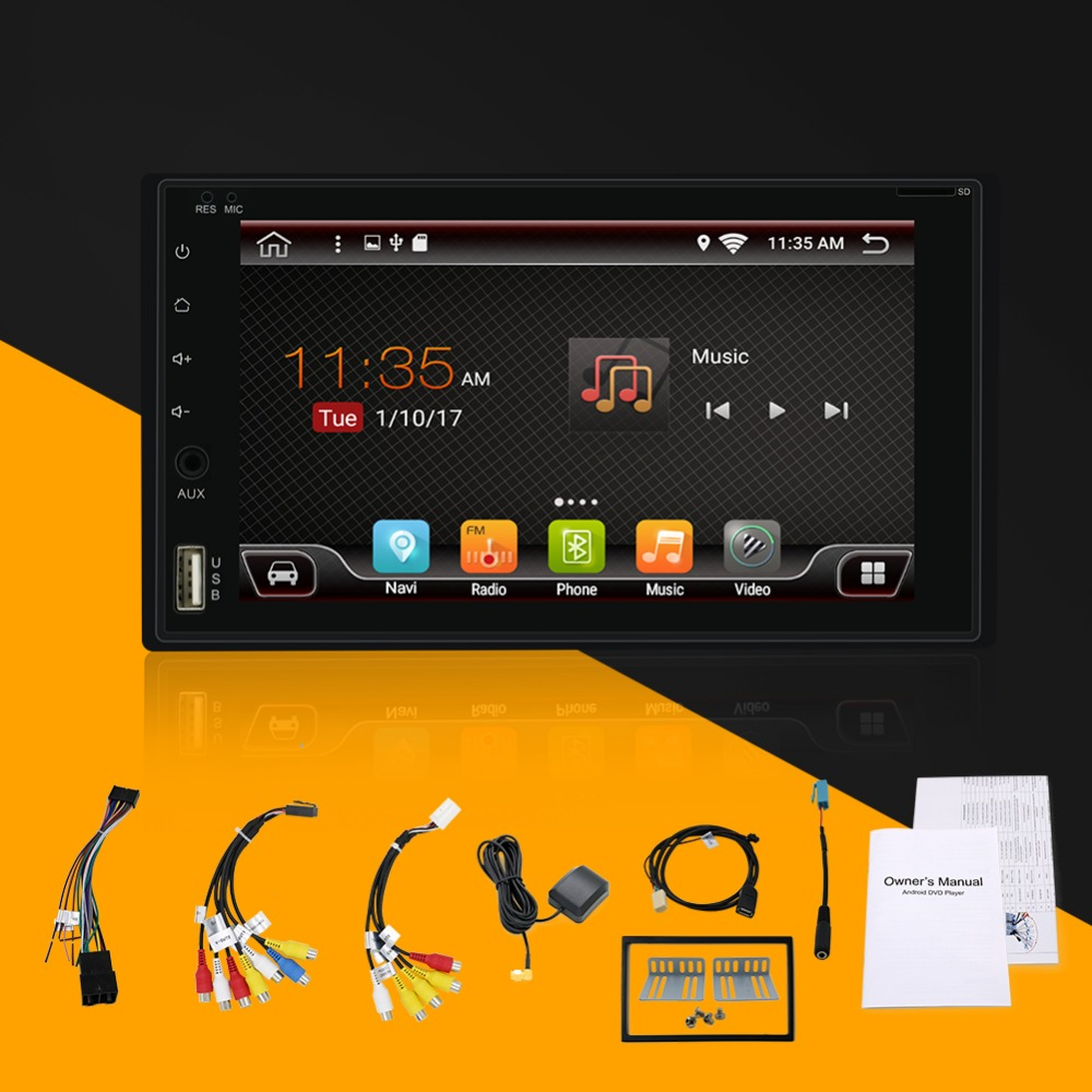 Bosion Universal 2 Din Android 6.0 Car radio GPS+wifi+3G/4G+bluetooth+radio+quad Core+Capacitive Touch Screen+stereo