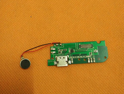 Used Original USB Plug Charge Board For Umi Max MTK6755M Octa Core 5.5inch FHD Free shipping