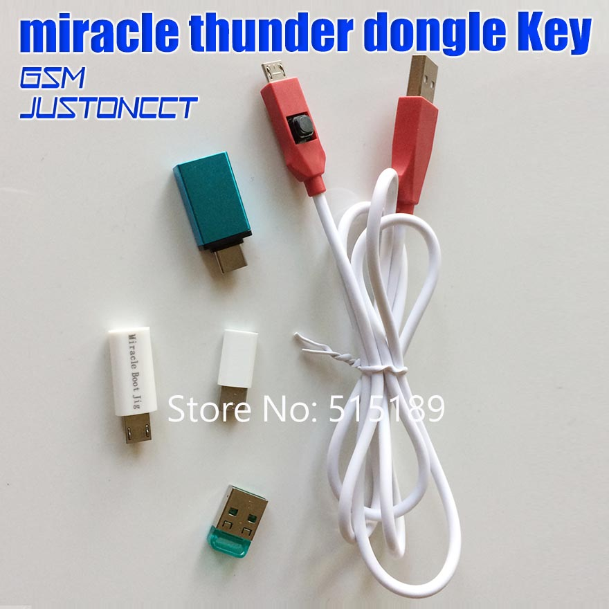 2019 Original New Miracle Thunder Dongle Miracle Thunder Pro Dongle No Need Miralce Box And Key