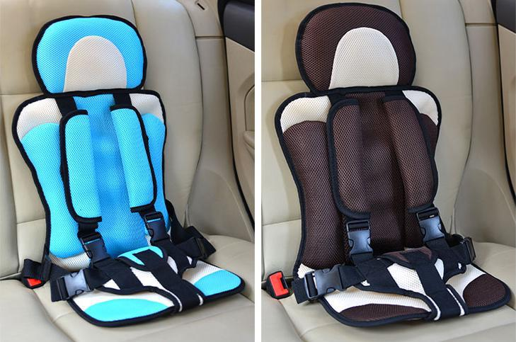 5 Point Safety Harness Child Car SeatsUniversal Toddler Seat Cushion Breathable
