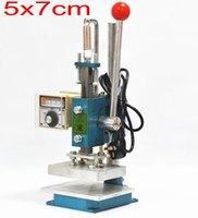 Hot Foil Stamping Machine And Debossing Machine 2 In 1 5x7cm 2 Pcs Stamping Copper Molds
