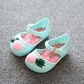 2016 Summer Mini sed zapatos Niñas zapatos sandalias Sandalias para niñas niños Niños sandalias de la jalea de Piña