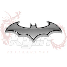 Kylin - 1pc 3D Metal Bat Car Styling Car Stickers Auto Logo Metal Batman Badge Emblem Tail Decal Motorcycle Car Accessories(China)