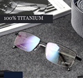 Titanium eyeglasses metal frame glasses masculino marcos de lentes opticos fashion brand designer eyeglasses frame oculos de sol