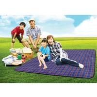 Ultralight Plaid Picnic Piknik Beach Blanket Sleeping Camping Mat Sand Free Outdoor & Beach Mat for Beach 150*200cm 3 colors