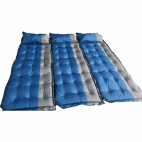 Nosii Automatic Inflatable Mattress Camping Mat Outdoor PVC Cushion Air Mattress Sleeping Pad With Pillow
