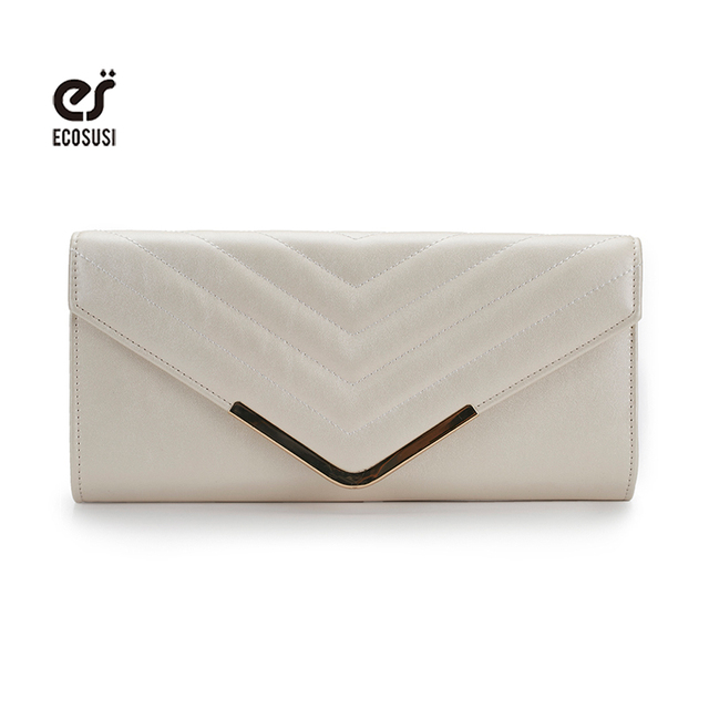 ecosusi Women Bags Day Clutch Bags Evening Bags For Wedding Bridal Handbags Ladies Purse Messenger Bags Phone Make Up Holder