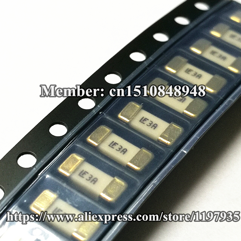 Smd Fuse 125v 3a Fast Acting Littelfuse 0451003 Mrl Smd