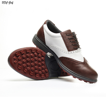 New arrival golf shoes Men shoes sport water-proof and free breathing fitted nail sport shoes footwear