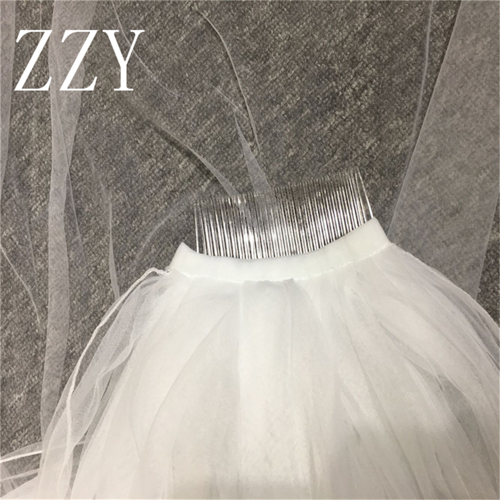 New Ivory Wedding Veil Wedding Dress Accessories + Comb