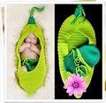 Newborn photography crochet pod style knit hat+shorts photo props sleeping bag sack newborn fotografia baby shower gift