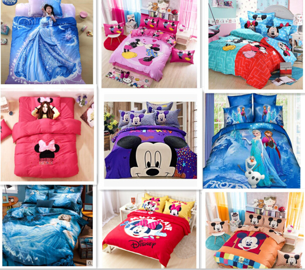 Luxus Minnie Mouse Bettwasche Kinder Bettwasche Set Mickey Und