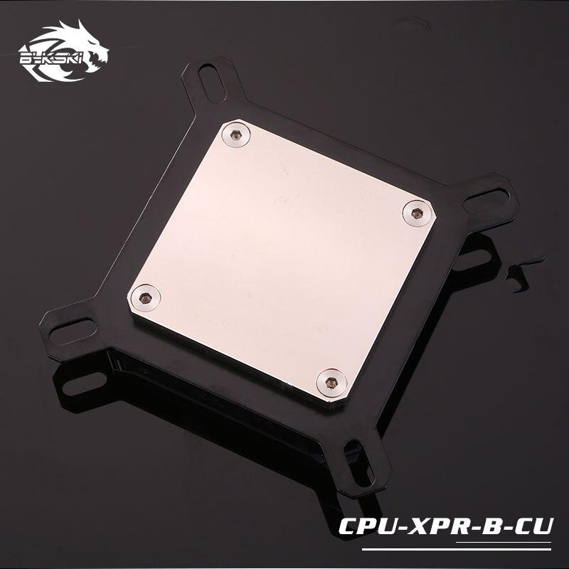 Bykski CPU refroidissement par eau bloc de radiateur utilisation pour INTEL LGA1150 1151 1155 1156/2011/2066 radiateur entièrement refroidi par bloc de métal - 5