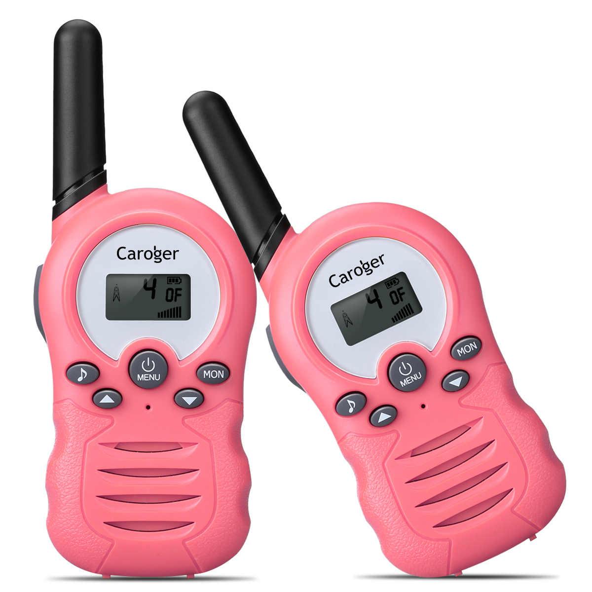 Caroger CR388A License Free Walkie Talkies Two Way Radio Up