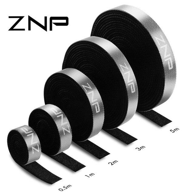 ZNP Кабельный органайзер провода намотки вставной наушник держатель шнур мышки протектор кабель управления для iPhone Samsung Micro USB type C