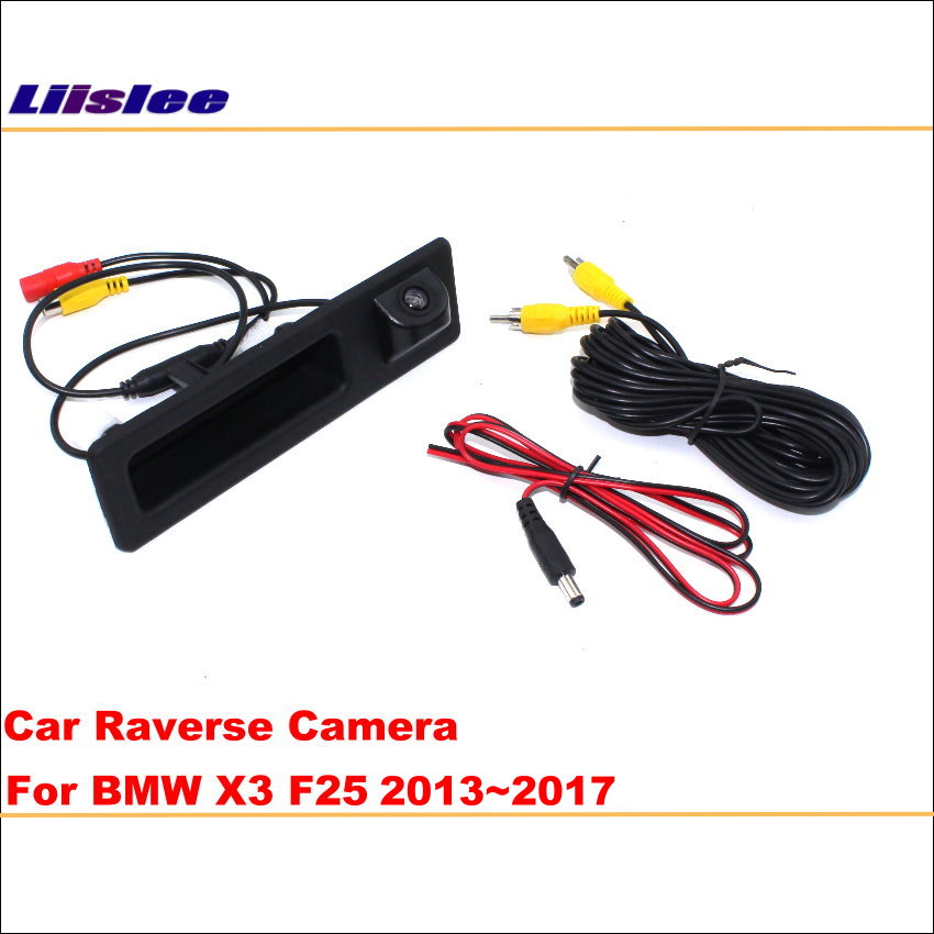 Liislee Original Screen Update System For BMW X3 F25 2013~2017 NBT System / Reversing Module + Rear Camera / Decoding Track Box