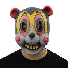 Cosplay parasol akademii Party rekwizyty do dekoracji lateksowe maska na twarz śmieszne maski nowość zwierząt Halloween maska