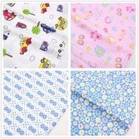 16112827,one style 50*150cm , 4 style mix each 50*50cm, cartoon cotton fabric ,diy handmade patchwork cotton cloth home textile.