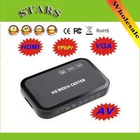 2 Pcs Wholesale Free Drop Shipping 1080P Multi HD Media Video Player Center With HDMI VGA