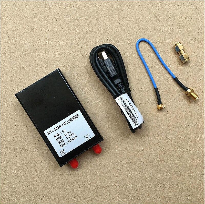 125MHz  RF Upconverter For  SDR (Funcube, RTLSDR) hackrf one RTL2832U E4000 & R820T; MF/HF Converter R820T125MHz  RF Upconverter For  SDR (Funcube, RTLSDR) hackrf one RTL2832U E4000 & R820T; MF/HF Converter R820T