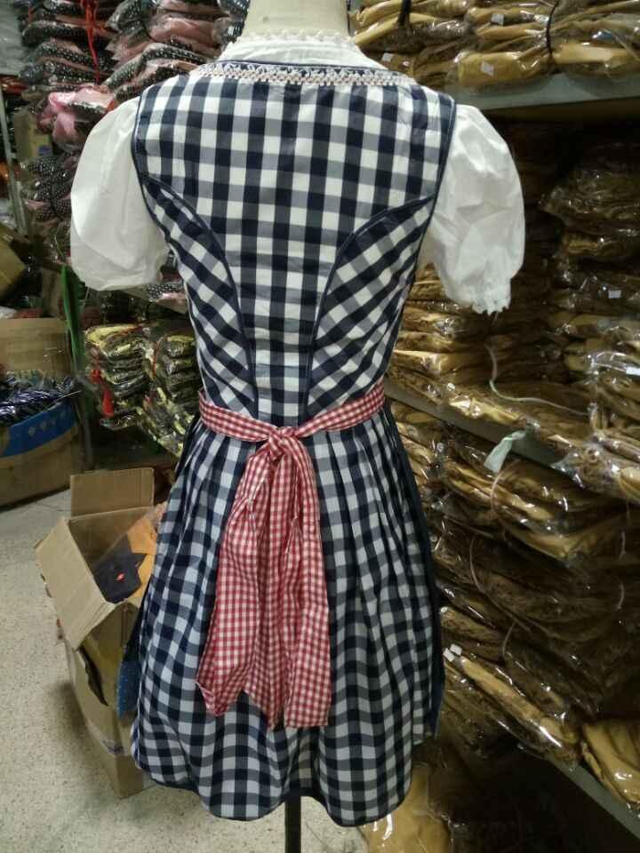 S-2XL oem מפעל בתוספת גודל אישית לעשות אוקטוברפסט תלבושות עבור בנות
