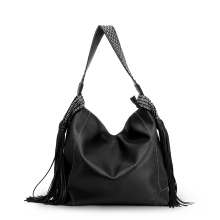 SMORESHINE Brand Soft Leather Women Shoulder Bags Female Exquisite Tassel Designer Fashion Handbags Women's Hobos Casual Tote