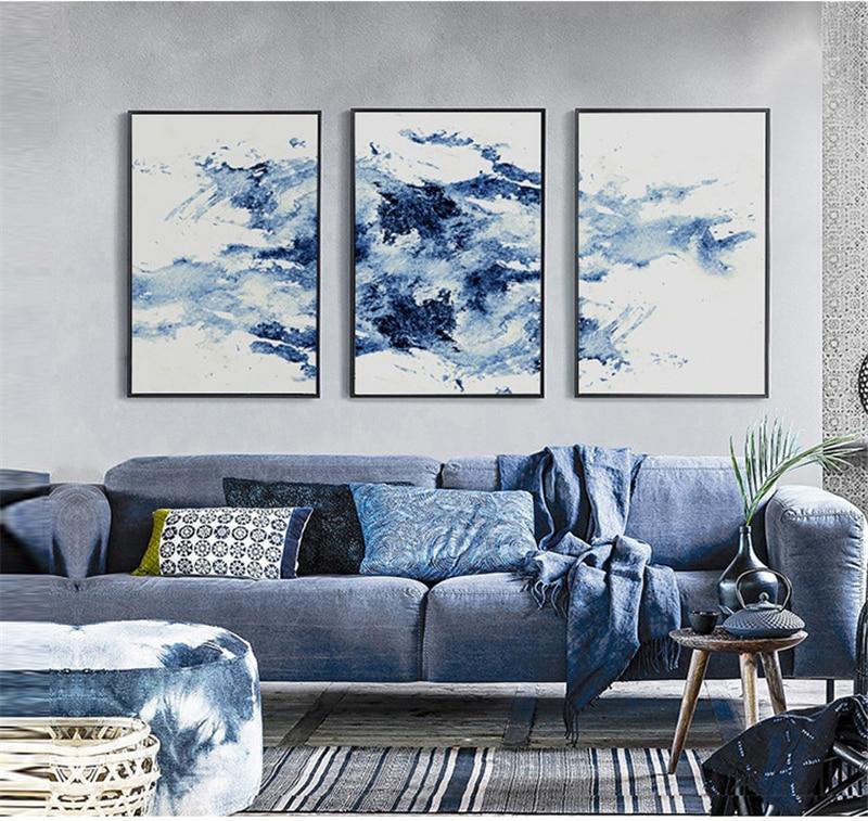 Charmant Wohnzimmer Schwarz Blau Bilder - Innenarchitektur ...