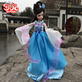29cm Blue Fairy Ancient Costume Doll 2016 New Kurhn Chinese Doll  Princess Bjd 1/6 Jointed Doll Kids Toys  Girls Birthday Gift