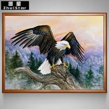 Вышивка крестом орел купить