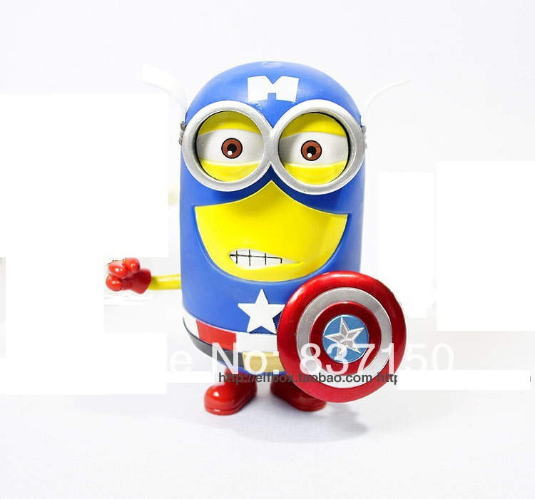 Hot Sale Film Despicable Me Minion 3D Eyes Cosplay DC