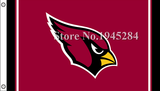 NFL Arizona Cardinals Flag New 3x5ft 90x150cm Polyester Flag Banner, free shipping