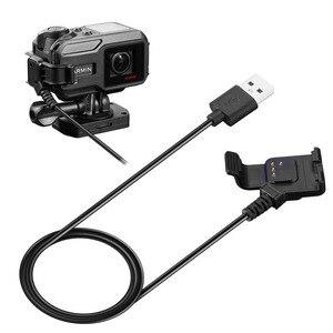 Image 3 - Câble de chargement de synchronisation de données de chargeur rapide dusb pour la caméra daction GPS de Garmin Virb X XE