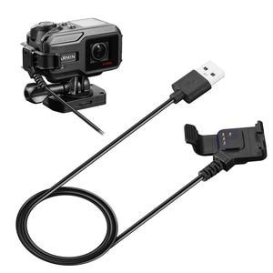 Image 3 - Usb急速充電器データ同期充電ケーブルのためのガーミンvirb × xe gpsアクションカメラ