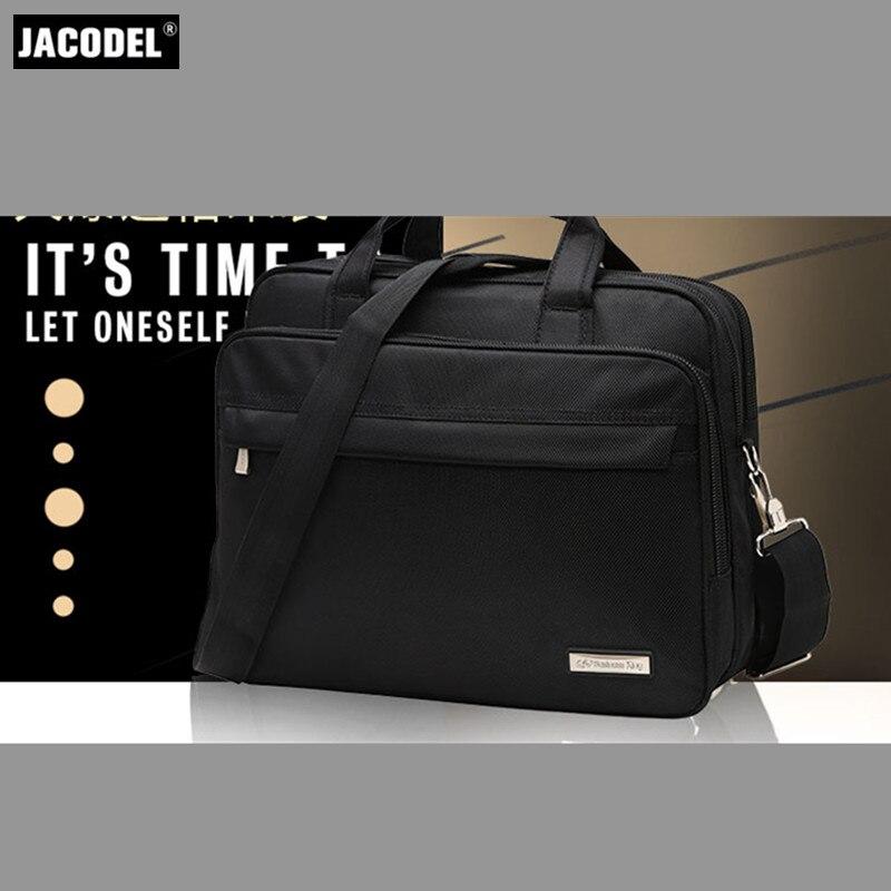 Jacodel Business Large Crossbody 15.6 Inch Laptop Briefcase for Men HandBag for Notebook 15 Laptop Bag Shoulder Bag for Student
