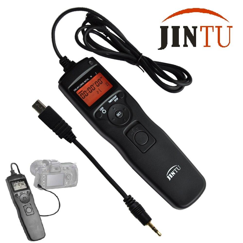 Jintu selfie minuterie lapse télécommande bouton de déclencheur pour sony a7 a7r nex-3nl a6000 a58 hx300 rx100n caméra