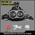CREE XM-L T6 LED RU USA 4000Lumen  Headlamp Headlight Caming Hunting Head Light Lamp 3 Modes +2*18650 Battery + EU+Car Charger