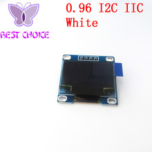 "Free shipping 1Pcs 128X64 OLED LCD LED Display Module white For Arduino 0.96"" I2C IIC SPI Serial new original"