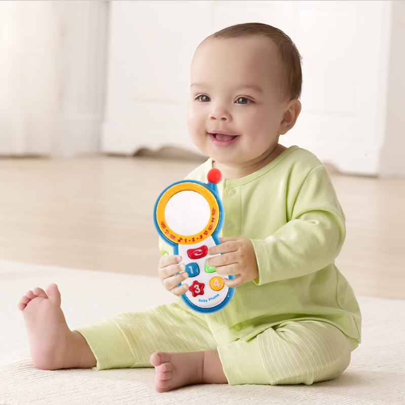 Baby Kids Learning Study Musical Sound Cell Phone Children Educational Toys,mobile kids phones,learning toy mobile phone image
