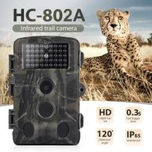 16MP 1080P камера для слежения за дикой природой, камера для фотоловушки, инфракрасная охотничья камера s HC802A, беспроводная камера для слежения за дикой природой