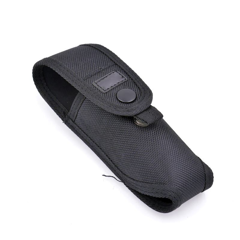 15x5x4cm Nylon Flashlight Pouch Light Weight Portable Holster Durable Belt Pouch For A100 E17 C2 Flashlight