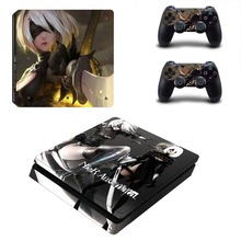 NieR Automata Skin Sticker Cover Protector Vinyl Sticker For Playstation 4 PS4 Slim